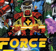 The Force Of Five Sticker