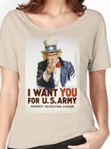 I Want You - Uncle Sam Women's Relaxed Fit T-Shirt