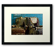 A Perfect Pair: Imperfect Chairs Framed Print
