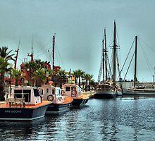 The Marina, Cartagena, Costa Calida, Spain by Squealia