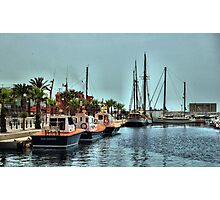The Marina, Cartagena, Costa Calida, Spain Photographic Print