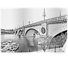 London Bridge, Lake Havasu City, Arizona  Poster