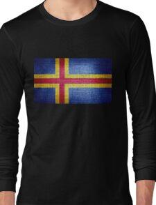 Aland Flag Long Sleeve T-Shirt