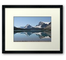 Bow Lake, Icefields Parkway, Alberta, Canada Framed Print