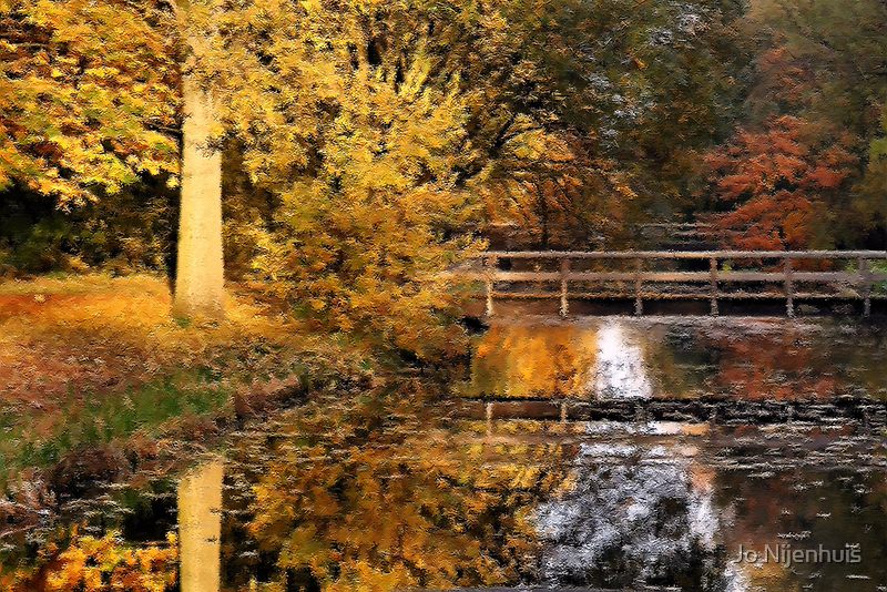 Autumn Is Like A Painting by Jo Nijenhuis