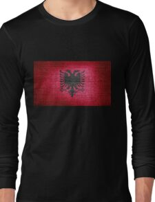 Albania Flag Long Sleeve T-Shirt