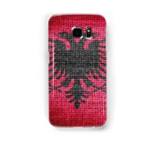 Albania Flag Samsung Galaxy Case/Skin