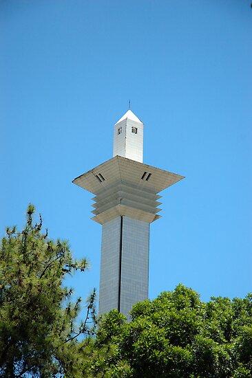 masjid tower by bayu harsa