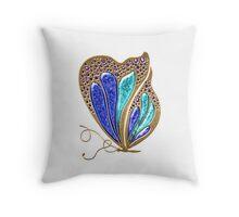 Fancy Butterfly Throw Pillow