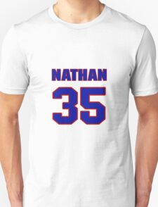 National football player Nathan Poole jersey 35 T-Shirt