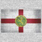 Alderney Flag by Nhan Ngo