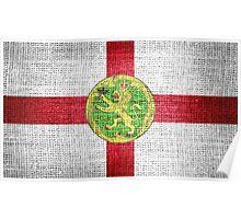 Alderney Flag Poster