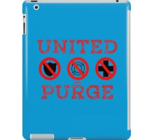 United We Purge. iPad Case/Skin