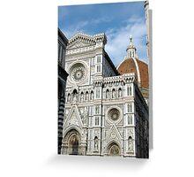 Piazza Del Duomo Greeting Card