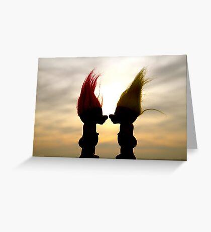 Troll lovers Greeting Card