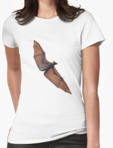 Spectacled flying fox Womens Fitted T-Shirt