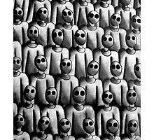 The army of silent idiots Photographic Print