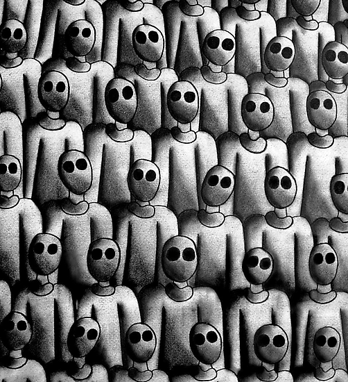 The army of silent idiots by Harald Gick
