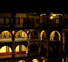 Night at Rila Monastery by MichaelBr