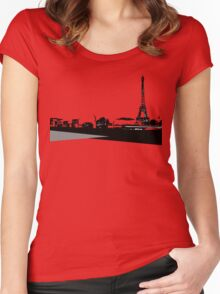 City Scape 5 Women's Fitted Scoop T-Shirt