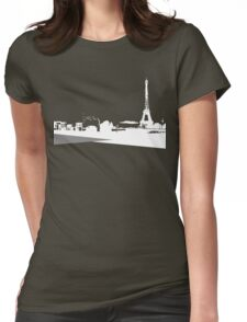 City Scape 3 Womens Fitted T-Shirt