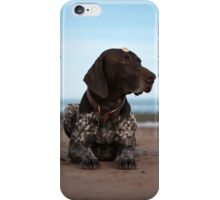 Shell Head German Shorthaired Pointer iPhone Case/Skin