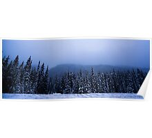 Rogers Pass Snow Storm #1 Poster