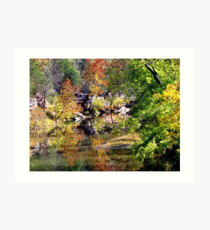 ~Reflecting Autumn~ Art Print