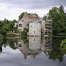 Scotney Castle undergoing a little T.L.C. by ChelseaBlue