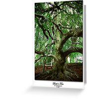 Leah's Tree Greeting Card