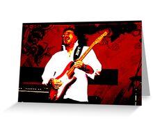 Guitarist 6 Greeting Card