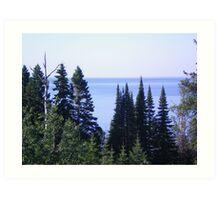 The GREAT Lake superior Northern Minnesota ~ USA Art Print