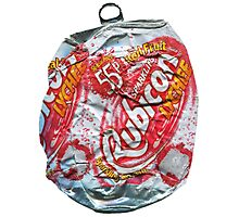 Rubicon Lychee - Crushed Tin Photographic Print