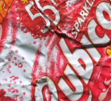 Rubicon Lychee - Crushed Tin Sticker