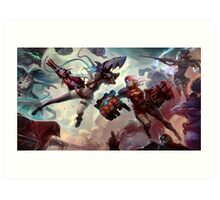 league of legend Art Print