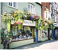 Street Summer in Glastonbury Photographic Print