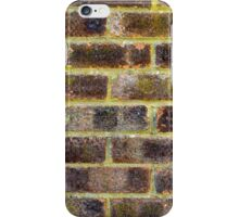Brick Wall Texture iPhone Case/Skin