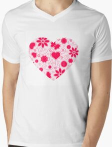 Share Your Love Mens V-Neck T-Shirt