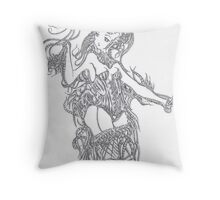 gut wrenching remix Throw Pillow