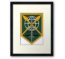 200th Military Police Command Framed Print