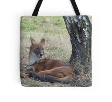 The Whistling Hunter At Rest Tote Bag