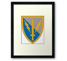 201st Battlefield Surveillance Brigade Framed Print