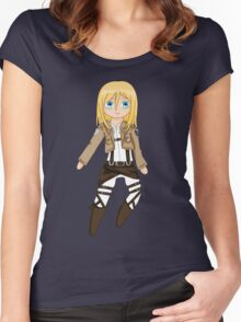 Chibi Christa Women's Fitted Scoop T-Shirt