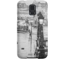 Snowfall in Edinburgh Samsung Galaxy Case/Skin