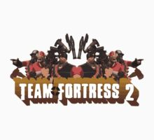 Team Fortress 2 Poster Kids Tee