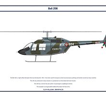 Bell 206 Italy 1 by Claveworks