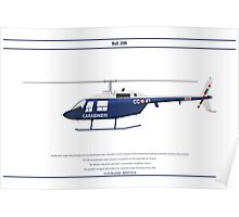 Bell 206 Italy 2 Poster