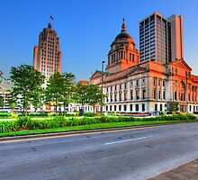 Downtown Fort Wayne, Indiana by Kevin Whaley