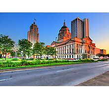 Downtown Fort Wayne, Indiana Photographic Print