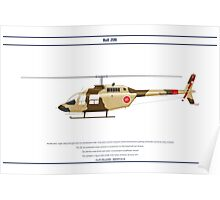 Bell 206 Oman 1 Poster